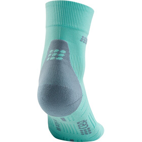 cep Short Socks 3.0 Donna, turchese/grigio